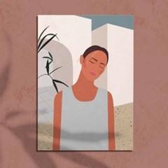 Summer Breeze 2 일러스트 포스터 or 그림판넬