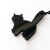 [노낫네버] 밤 고양이 키링