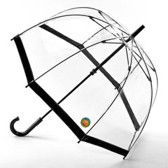 [펄튼 우산] Birdcage-1 UV [Black]