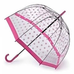[펄튼 우산] Birdcage-2 [Pink Polka Dot]