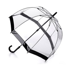 [펄튼 우산] Birdcage-1 [Black]