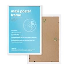 GBeye 정품 포스터 프레임 61x90 액자 (화이트)_(1041283)