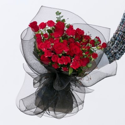 레드장미 꽃다발