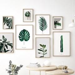 식물 액자 보테니컬 나뭇잎 그림 포스터 모음