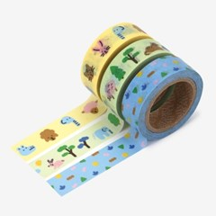 Masking tape 3p set - 02 Friends