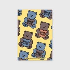 Bear pick-creamyellow(엽서)_(1206788)