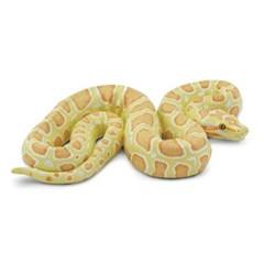 [사파리엘티디] 100250/알비노 버마왕뱀 동물피규어_(1374332)