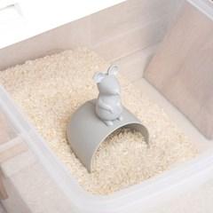 큐티 생쥐 쌀컵