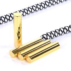 슈닥터 실린더 에글렛 신발끈 팁(스크류) GOLD