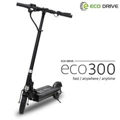 [AU테크] 에코드라이브 전동킥보드 ECO300 블랙_(1369410)