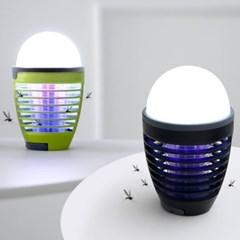 파파 LED 버그킬러 무드등(블랙)