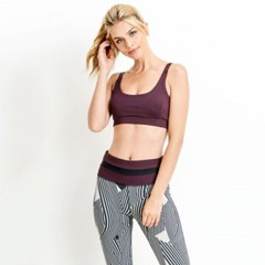 [monob]Triple Cutout Detail Sports Bra (AT6115_PL)_(2039430)
