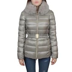 19FW 에르노 CLAUDIA 여성 폭스퍼 구스다운 자켓 (그레이) PI0485DIC