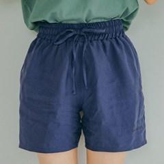 [Tencel] Shorts(navy)