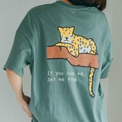 [Organic cotton] Leopard