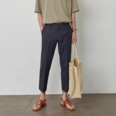 LIGHT WEIGHT BASIC SLACKS_NAVY