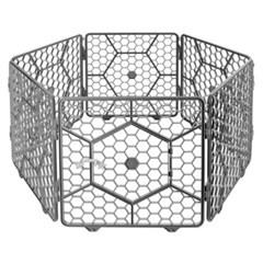푸르미 대형 매직울타리 도어형 6p(다크그레이)_(1133038)