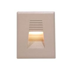 LED 사각 계단매입 3w