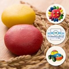 국내산 쌀로 만든 천연 장난감 잼클레이