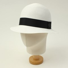 BKMT Summer White Cloche Hat 썸머클로슈햇