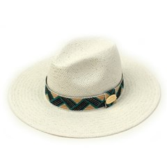 Cool Line Swing White Fedora 여름페도라