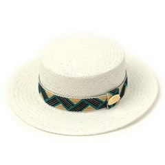 Cool Line White Panama Hat 파나마햇