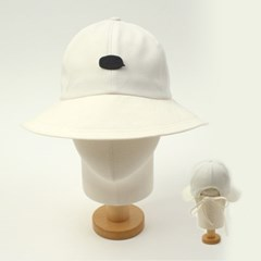 BKMT Backopen White Bucket Hat 벡오픈버킷햇