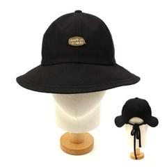 GDMT Backopen Black Bucket Hat 벡오픈버킷햇