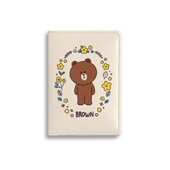 [LINE FRIENDS] 카드 케이스 [플라워]_(854997)