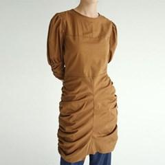 gorgeous shirring midi dress (3colors)_(1294009)