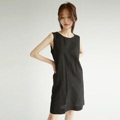clean line linen mini dress (3colors)_(1294008)