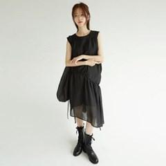 layer chiffon midi dress (2colors)_(1294007)