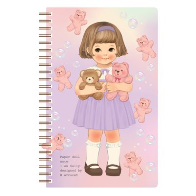 paper doll mate spring note/ ver.4_Sally