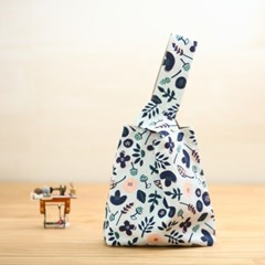 (퀼트diy패키지) 손목가방만들기 시아노타입