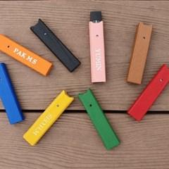 바스켓메이커 전자담배 CSV 쥴 JULL 이니셜 가죽 케이스