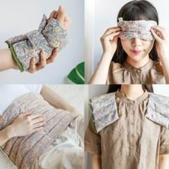 황금알 현미 자연곡물 찜질팩 눈 안대 복부 허리 손발목 어깨 등