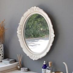 로망스 엔틱 화이트 거울_(2746239)