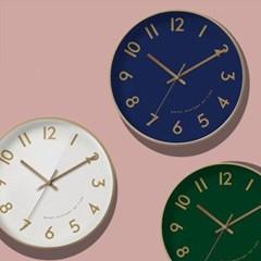 클래식 모던 벽걸이 시계(4 color)