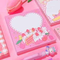 Strawberry Cake 메모패드