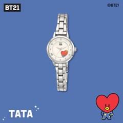 [BT21] 실버 메탈시계 : 타타 OTWB19708TDS