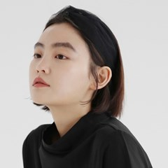 WIDE SINGLE HAIR BAND / NET / BLACK