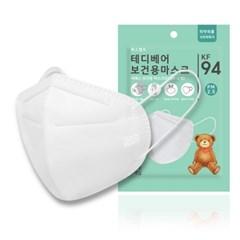 테디베어 유아 어린이 KF94 황사 초미세먼지 마스크 30매