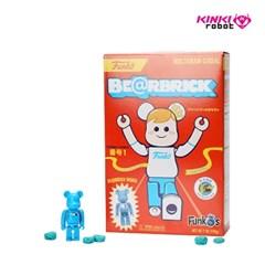 [KINKI ROBOT]100%BEARBRICK MEDICOMTOY X FUNKO'S CEREAL RED BOX(
