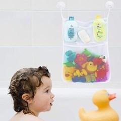 욕실정리 그물망 목욕용품 목욕놀이 완구 수납