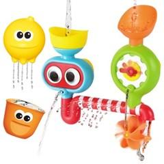빙글빙글 다이버 파이프 아기 목욕놀이 유아 물놀이 장난감