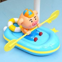 피기의 노젓는 보트놀이 유아 목욕놀이 물놀이 장난감