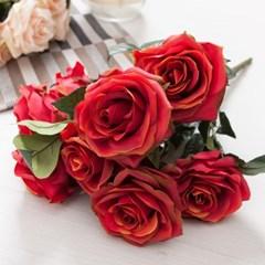 웨딩로즈부쉬o 45cm FAIAFT 조화 꽃 인테리어소품_(1340768)