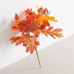 열매단풍잎부쉬 30cm 조화 조화꽃 인테리어 FAIAFT_(1354759)