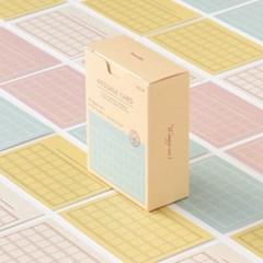 메세지 카드 - 원고지 ver.1