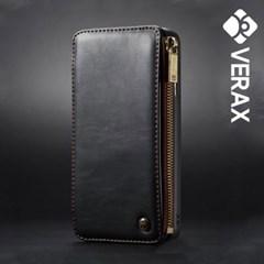 아이폰6플러스 카드수납 빈티지 가죽 케이스 P195_(1705458)